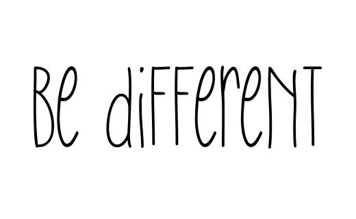 Косметика для отелей и гостиниц Be different
