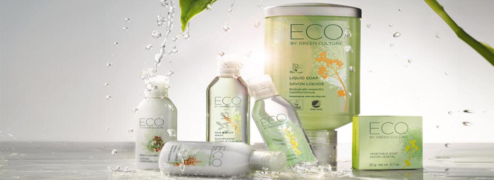 Косметика для гостиниц и отелей ECO by Green Culture