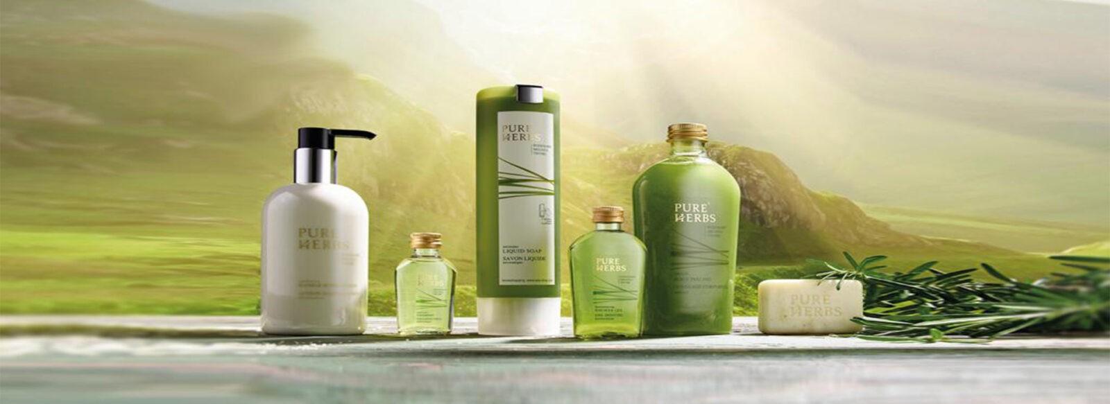Косметика для гостиниц и отелей (диспенсеры для гостиниц и отелей) Pure Herbs