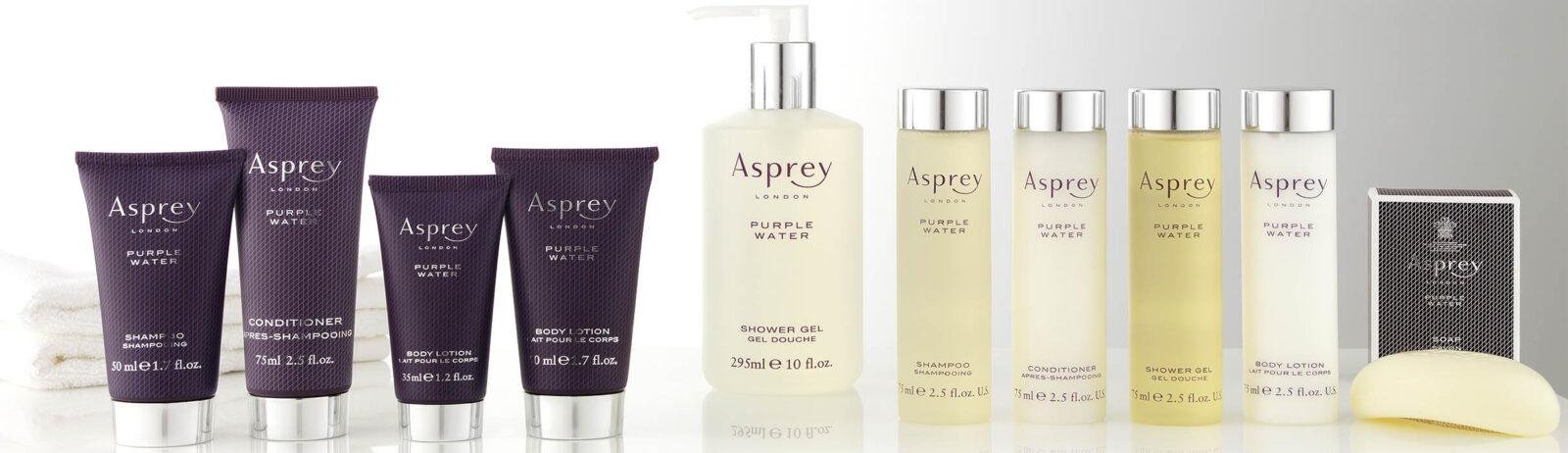 Косметика для гостиниц и отелей Asprey