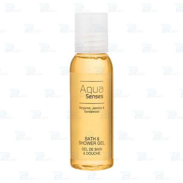 гель для душа (желтый) Aqua Senses 35 мл