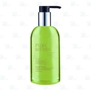 Шампунь для волос и тела Pure Herbs Pump-диспенсер