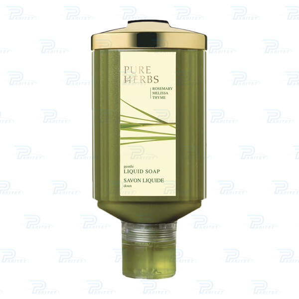 Мыло жидкое Pure Herbs диспенсер Press and Wash
