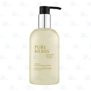 Лосьон для рук и тела Pure Herbs pump-диспенсер 300 мл