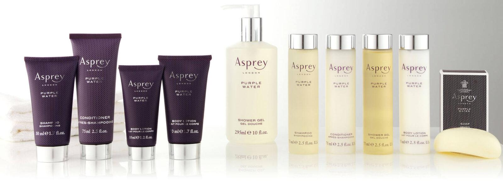 Asprey косметика для гостиниц и отелей