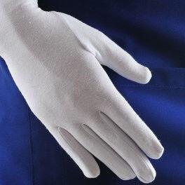 Перчатки для официантов белые женские